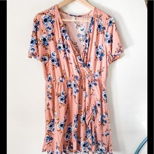 Xhiliration Floral Mimi Dress, Size XL